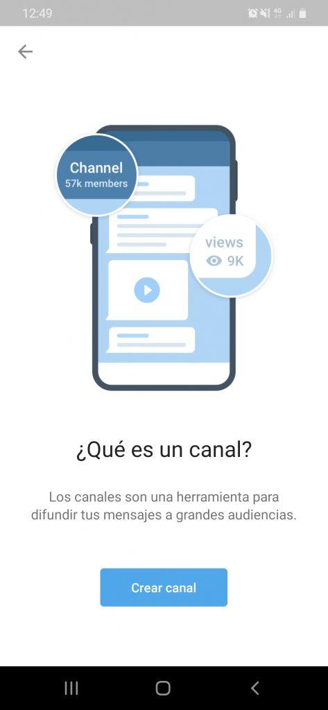 Como crear un bot de Telegram por Miriam Bustos paso previo creación del canal