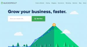 home de QuickSprout herramienta gratuita de growth hacking